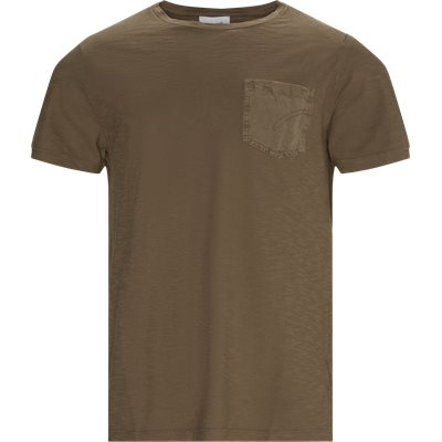 Regular fit | T-shirts | Brun